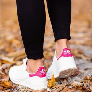 Adidas Stan Smith Originals Pink Sneakers Shoes